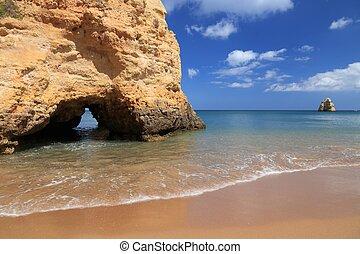 Algarve region coast