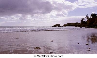 Algarve - St Eulalia Beach timelaps - Algarve - Western...