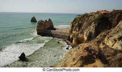 Algarve summer holidays - Tourism and travel concept in...