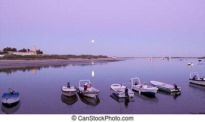 Algarve - Tavira - 4 Aguas Sunset A - Dusk in Quatro-Aguas...