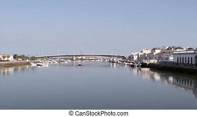 Algarve - Tavira Gilao River - Algarve city of Tavira Gil?o...
