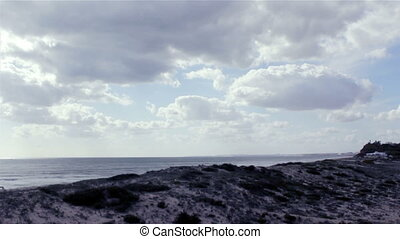Algarve Timelapse Dunas Douradas B - timelapse with clouds...