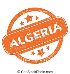 Algeria grunge icon