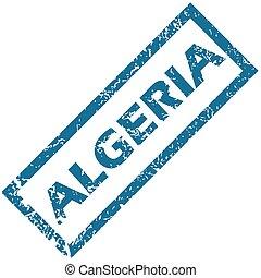 Algeria rubber stamp