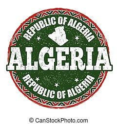 Algeria sign or stamp