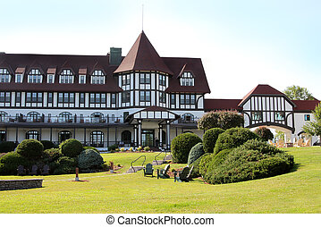 Algonquin hotel, St. Andrews, New Brunswick - ST. ANDREWS,...