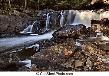 Algonquin Park Muskoka Ontario Waterfall