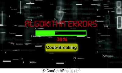 Algorithm errors code breaking