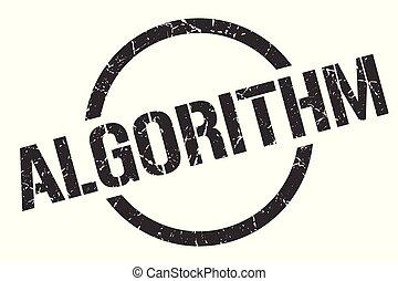 algorithm, postzegel