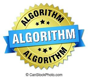 algorithm round isolated gold badge
