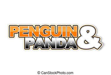 algorithm, spam, -, 2.0, panda, pingüino