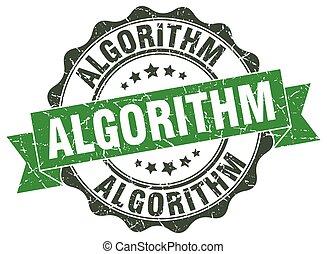 algorithm stamp. sign. seal