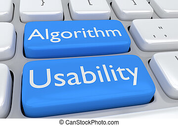 Algorithm Usability concept