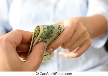 alguien, elasticidad, sugerir, soborno, Sistema, dinero,...