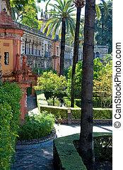 alhambra, 庭