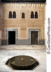 Alhambra inner courtyard