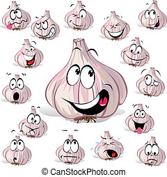 alho, caricatura
