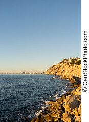 Alicante coastline
