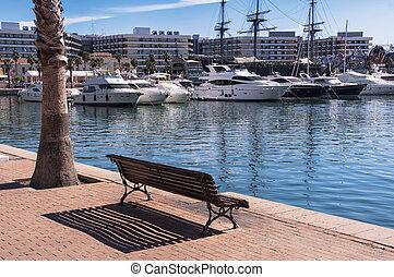 Alicante harbor