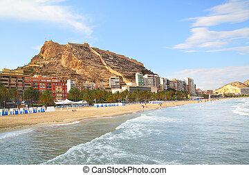 Alicante, plage