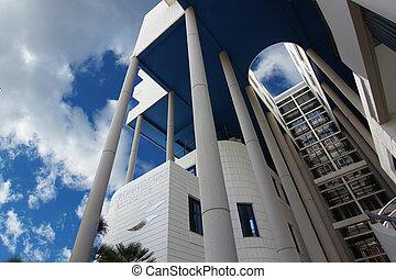 ALICANTE, SPAIN OCT 20: modern architecture in a building...