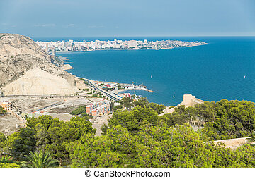 Alicante, Spain: View of the city