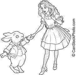alice, coelho