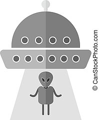 Alien, face, head icon vector image. Can also be used for astronomy. Suitable for use on web apps, mobile apps and print media.