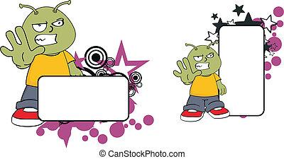 alien cartoon copyspace6