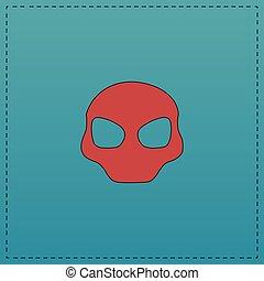 Alien Head computer symbol