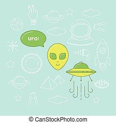 Alien illustration