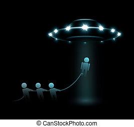 alien, ontvoering