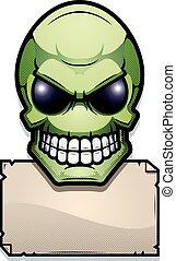 Alien Sign Illustration