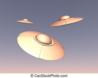 alien UFO spaceships
