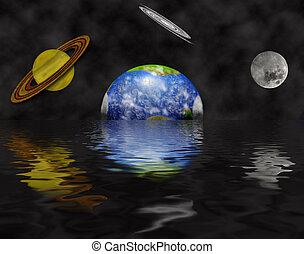 Alien Water World