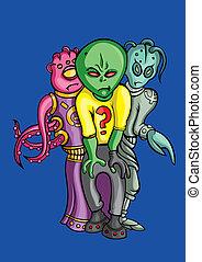 Aliens crew