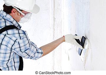 aligns wall