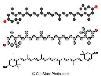 alimentação, planta, lutein, aditivo, vegetables., alimento, muitos, amarelo-laranja, molecule., mas, pigmento, também, usado, presente, naturally