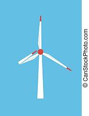 alimentazione vento, serve, a, il, persone