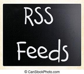 alimentazioni, rss
