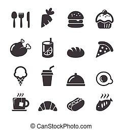 alimento, ícone