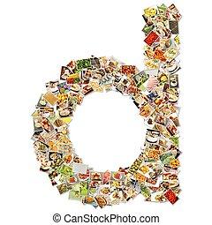 alimento, arte, d