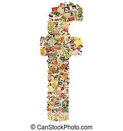 alimento, arte, f
