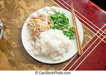 alimento chinês, 2