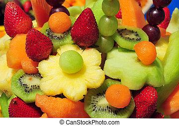 alimento, cocina, fruta, -