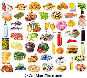 alimento, colección