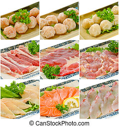 alimento, collection., steamboat, chino