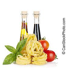 alimento, colores, italiano
