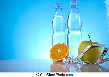 alimento, dietético, condición física