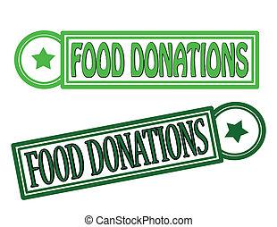 alimento, donaciones